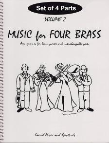 HOLBONRNE - COMPLETE MUSIC FOR BRASS FOR 2 TRUMPETS & 3 TROMBONES