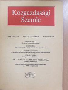 Bod Péter Ákos - Közgazdasági Szemle 1988. szeptember [antikvár]