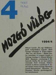 Baló György - Mozgó Világ 1994. április [antikvár]