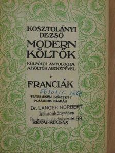 Alfred de Musset - Modern költők I. [antikvár]