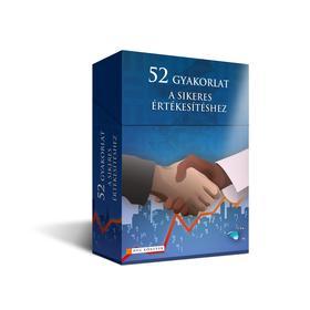 52 gyakorlat a sikeres értékesítéshez - Önfejlesztő kártya