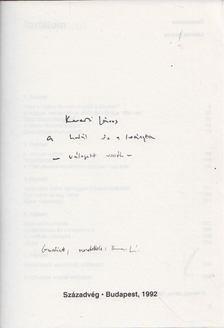 Kenedi János - A halál és a leányka (dedikált) [antikvár]