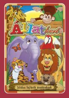 Állatkert - Játékos fejtörő óvodásoknak