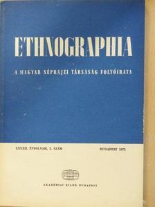 Benda Kálmán - Ethnographia 1971/3. [antikvár]