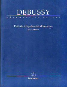 DEBUSSY - PRÉLUDE A 'APRES-MIDI D'UN FAUNE POUR ORCHESTRE STUDY SCORE URTEXT (DOUGLAS WOODFULL-HARRIS