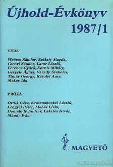 LENGYEL BALÁZS - Újhold-Évkönyv 1987/1 [antikvár]