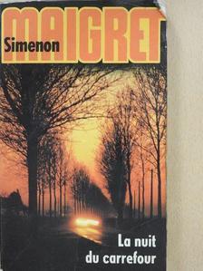 Georges Simenon - La nuit du carrefour [antikvár]