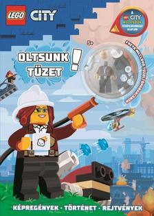 Lego City - Oltsunk tüzet! minifigura: Freya with Roasitie