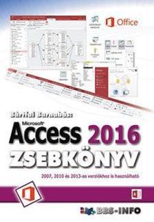 BÁRTFAI BARNABÁS - Access 2016 zsebkönyv