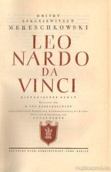 Mereschkowski, D. S - Leonardo da Vinci [antikvár]