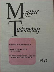 Alfred Tarski - Magyar Tudomány 1991. július [antikvár]