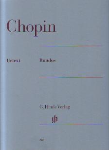 Chopin - RONDOS FÜR KLAVIER URTEXT (MÜLLEMANN / GROETHUYSEN)