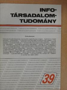 Enyedi György - Info-Társadalomtudomány 1996. december [antikvár]