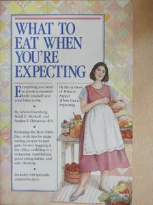 Arlene Eisenberg - What to eat when you're expecting [antikvár]