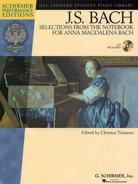 J. S. Bach - SELECTIONS FROM THE NOTEBOOK FOR ANNA MAGDALENA BACH, CD INCLUDED