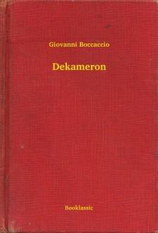 Giovanni Boccaccio - Dekameron [eKönyv: epub, mobi]