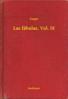Esopo - Las fábulas. Vol. IX [eKönyv: epub, mobi]