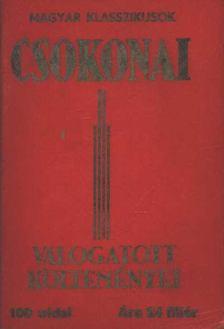 Csokonai Vitéz Mihály - Csokonai válogatott költeményei [antikvár]