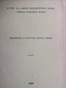 Borosné Kézy Zsuzsa - Tanulmányok az esztétikai nevelés köréből [antikvár]