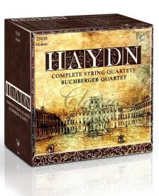 Haydn - COMPLETE STRING QUARTETS 23CD BUCHBERGER QUARTET