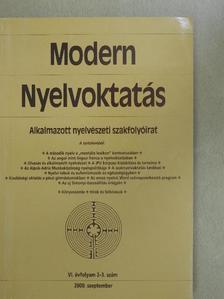 David Singleton - Modern nyelvoktatás 2000/2-3. [antikvár]