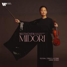 BEETHOVEN - VIOLIN CONCERTO - 2 ROMANCES CD MIDORI