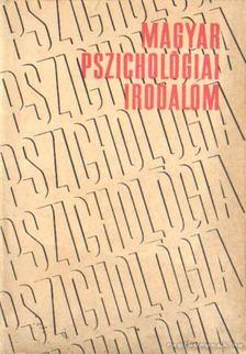 Benedek László - Magyar pszichológiai irodalom [antikvár]