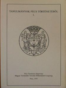 Hoóz István - Tanulmányok Pécs történetéből 1. [antikvár]