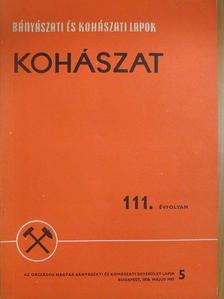 Csire István - Bányászati és Kohászati Lapok - Kohászat 1978. május [antikvár]
