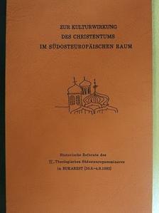 A. J. Ciurea - Zur Kulturwirkung des Christentums im Südosteuropäischen Raum [antikvár]
