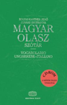 KOLTAY-KASTNER JENŐ, JUHÁSZ ZS - MAGYAR-OLASZ SZÓTÁR - CD-VEL
