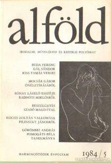 Juhász Béla - Alföld 1984/5. [antikvár]