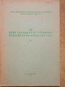 A. N. Tyihonov - Az Egri Tanárképző Főiskola Tudományos Közleményei [antikvár]