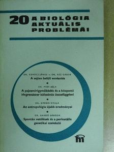 Dr. Gardó Sándor - A biológia aktuális problémái 20. [antikvár]
