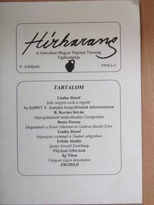 Ág Tibor - Hírharang 1994/1-2. [antikvár]