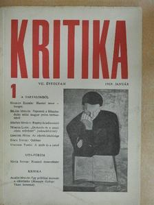 Béládi Miklós - Kritika 1969. január [antikvár]