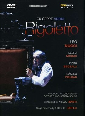 Verdi - RIGOLETTO DVD SANTI, NUCCI, MOSUC, BECZALA, POLGÁR LÁSZLÓ