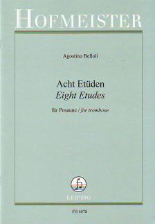 BELLOLI, AGOSTINO - ACHT ETÜDEN FÜR POSAUNE (WILLIAM S.FATCH)