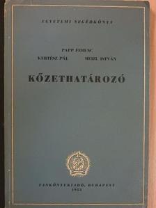 Bidló Gábor - Kőzethatározó [antikvár]