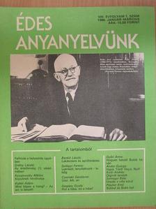 Andor György - Édes anyanyelvünk 1986. január-december [antikvár]