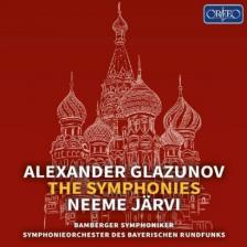 GLAZUNOV - THE SYMPHONIES 5CD JARVI