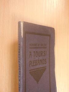 Honoré de Balzac - A toursi plébános [antikvár]