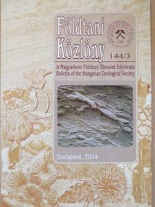 Brezsnyánszky Károly - Földtani Közlöny 2014/3. [antikvár]