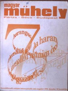 Bakucz József - Magyar Műhely 1990. december [antikvár]