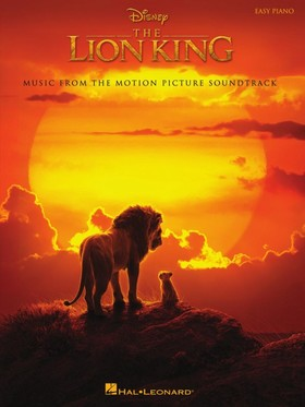 ZIMMER HANS - THE LYON KING. MUSIC FROM THE MOTION PICTURE SOUNDTRACK, EASY PIANO