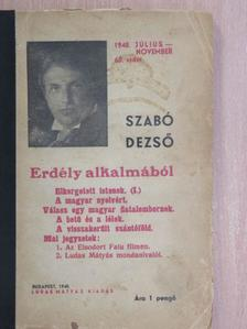 Szabó Dezső - Erdély alkalmából [antikvár]