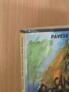 Cesare Pavese - Die Nacht von San Rocco [antikvár]