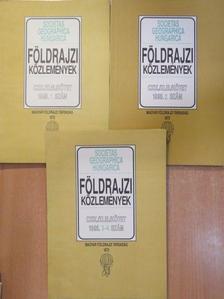 Beluszky Pál - Földrajzi Közlemények 1995/1-4. [antikvár]