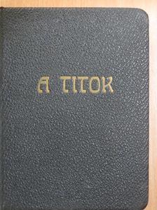 Thea von Harbou - A titok [antikvár]