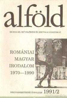 Márkus Béla - Alföld 1991/2. [antikvár]